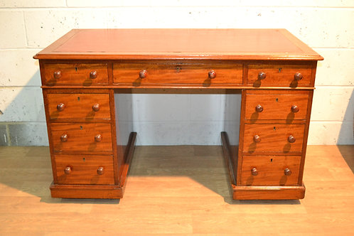 Victorian twin pedestal desk.