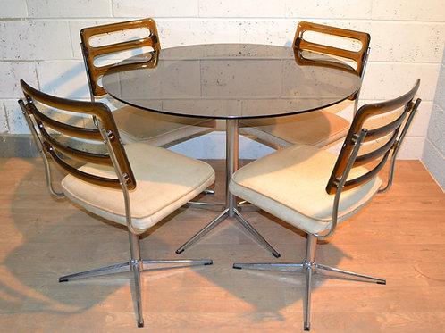 Mid century design dining suite.