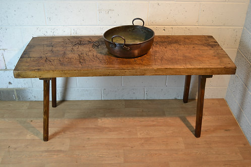 Butchers Block Table.