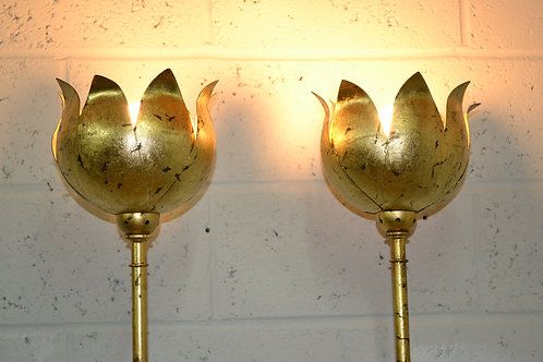 Design gilt standard lamps