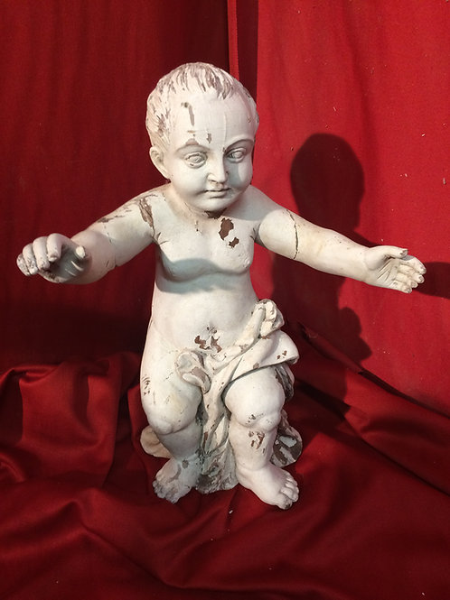 Antique Infant Jesus relic