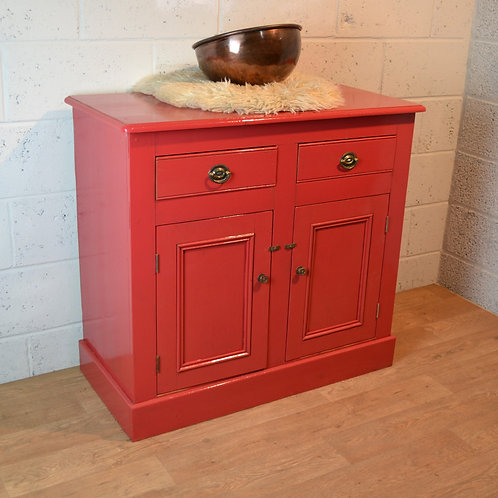 Deep Red Cupboard