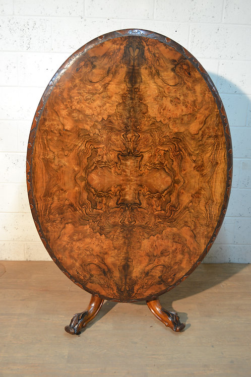Burr Walnut breakfast table