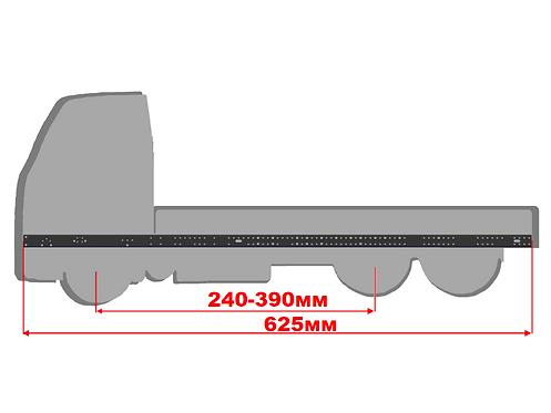 Экстрадлинная рама размером 625мм