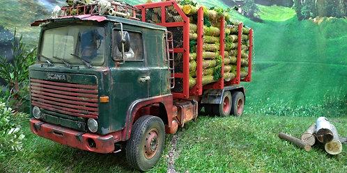 Scania 141 Лесовоз в масштабе 1:14