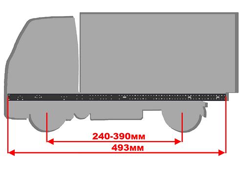Средняя прямая рама размером 493мм
