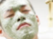 Naturlig ingrediens ansigt maske