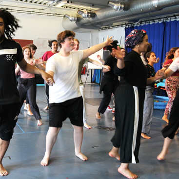The Tempest Rehearsals