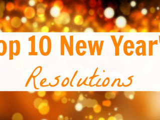 10, 9, 8, 7, ..... Resolutions and a tip or 10 to keep them