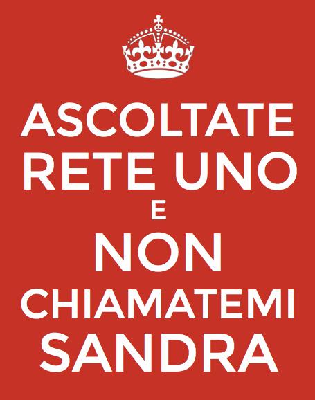 Keep calm non chiamatemi sandra
