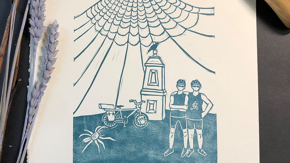Albany Relief Print