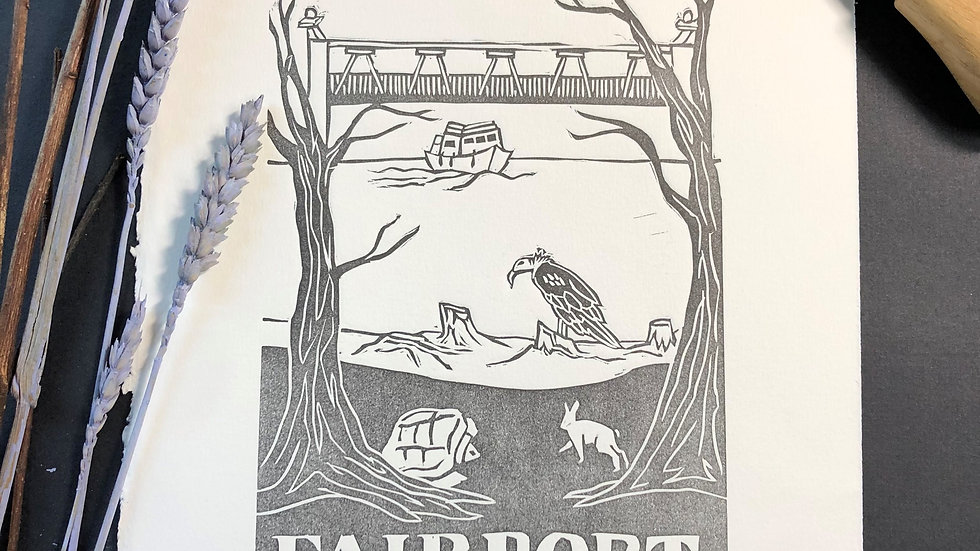 Fairport Relief Print