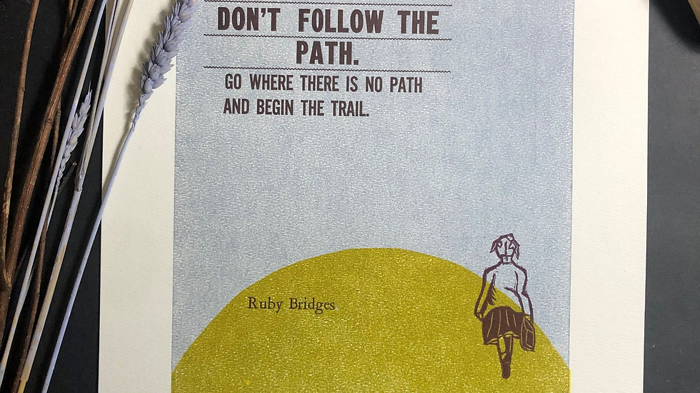 Don't Follow the Path