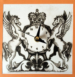 pegasus clock