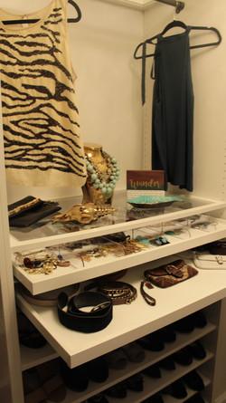 Master closet accessory closet