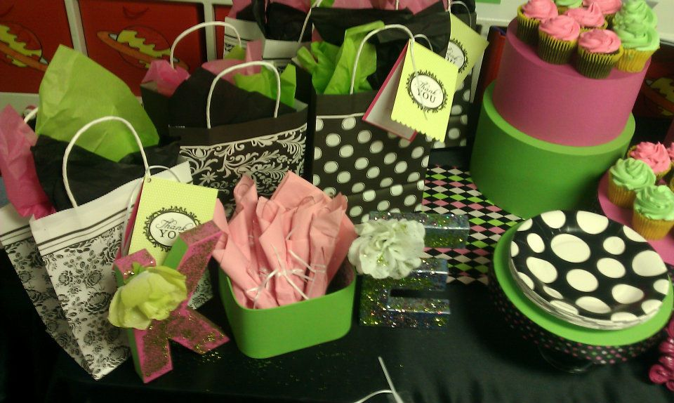 Pink & Green Birthday Design