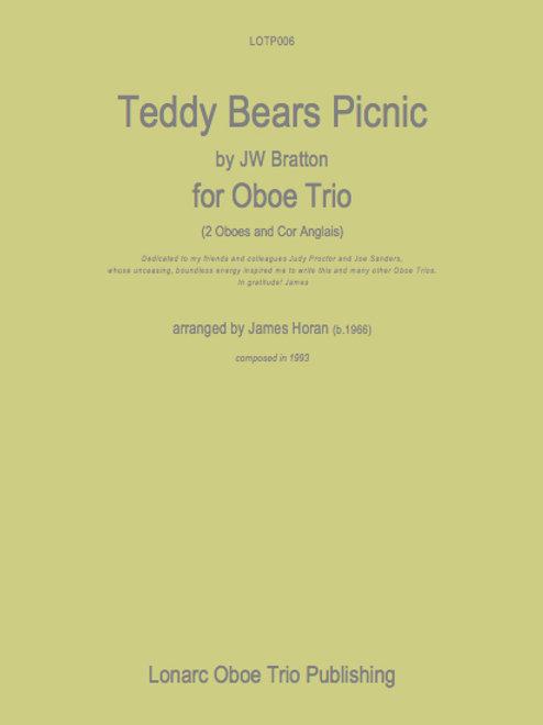 Teddy Bears Picnic by J W Bratton