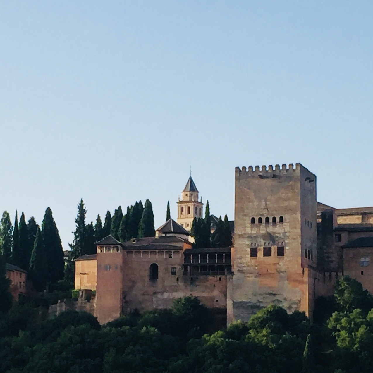 Alhambra during hte day