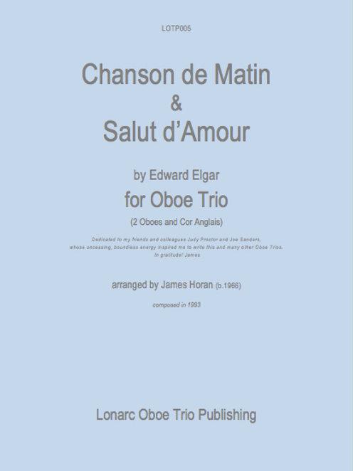 Chanson de Matin & Salut d'Amour by Edward Elgar