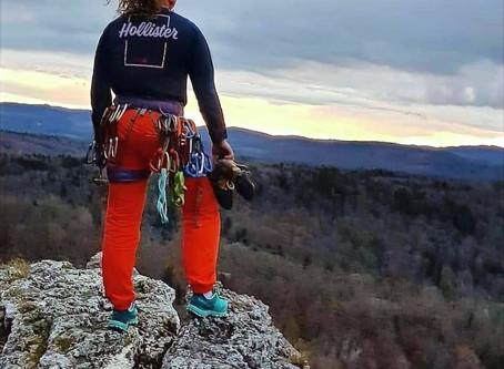 Brijeg, gora, planina, uspon … adrenalin = Dina Dijanović