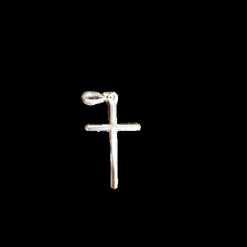 Pingente Cruz de Prata