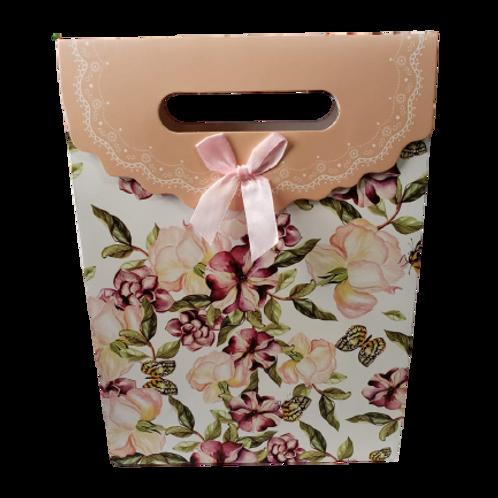Embalagem presente  LF Variedades Estampa Floral