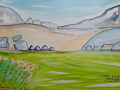 Lupine Valley, Bet Shemesh