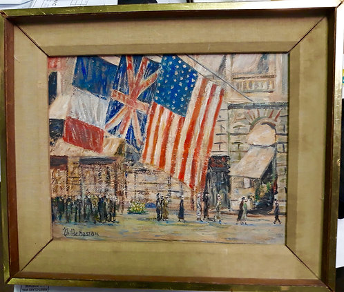 Flags by Ch. Hassam
