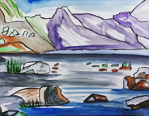 Snowdonia after Bob Rudd, G.B.