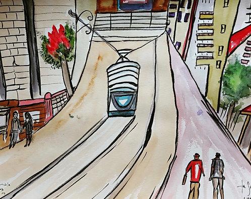 Light Rail - Jaffa Street