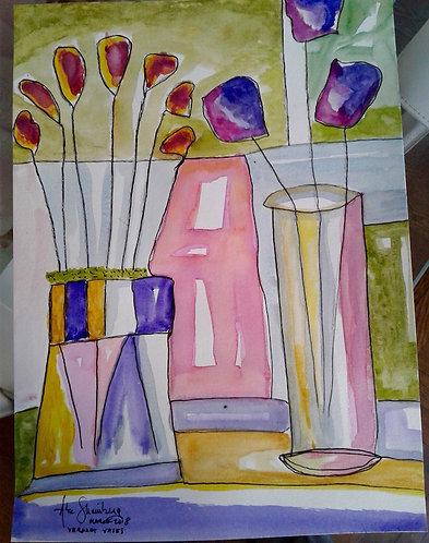 Verdant Vases