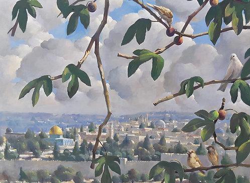 Jerusalem from Mt. Scopus