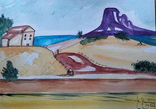 Mount Saint Victoire after Cezanne