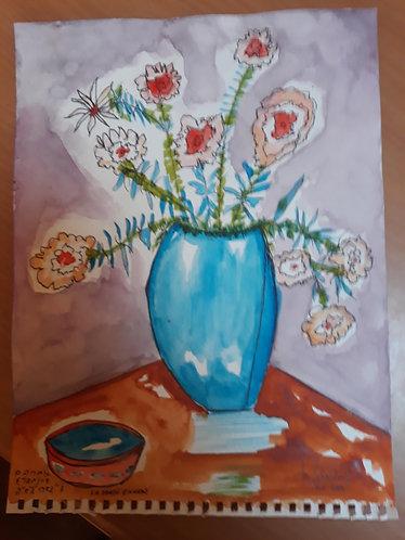Bowl & Flowers