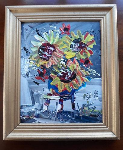Morris Katz . Yellow Flowers