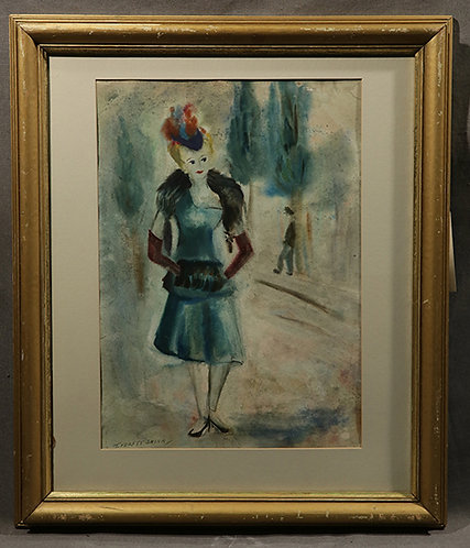 Lady Walking - Everett Shinn