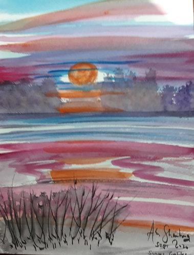 Sunset Galilee