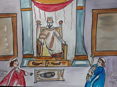 King Solomon and the Trial of the Baby