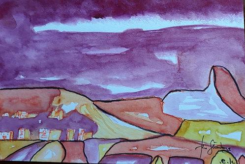 Judean Desert Sunset