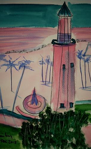 Lighthouse at Beach