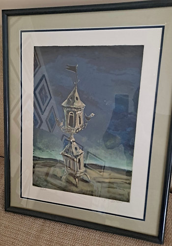 Havdolo by Yosl Bergner. Litho. Signed in pencil by artist