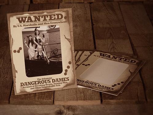 Wanted Dangerous Dames Vertical (8X10)
