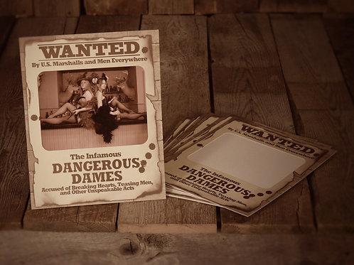 Wanted Dangerous Dames Horizontal (8X10)