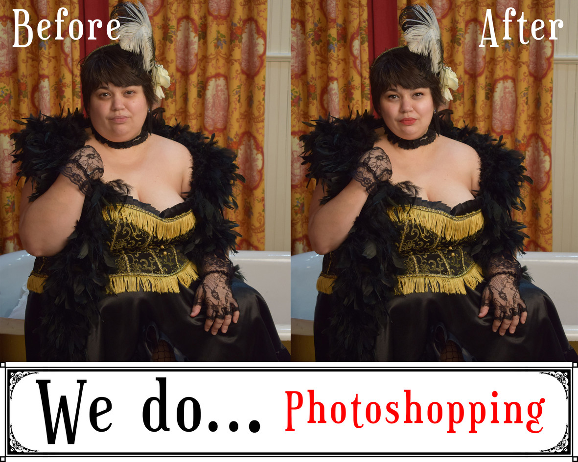 We Do Photoshopping