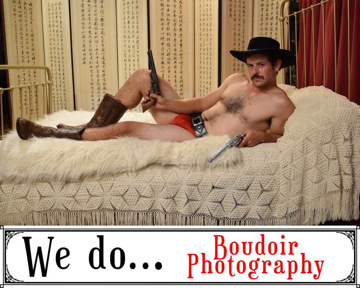 We Do Boudoir Photography