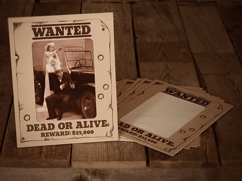 Wanted Dead or Alive Vertical (8X10)