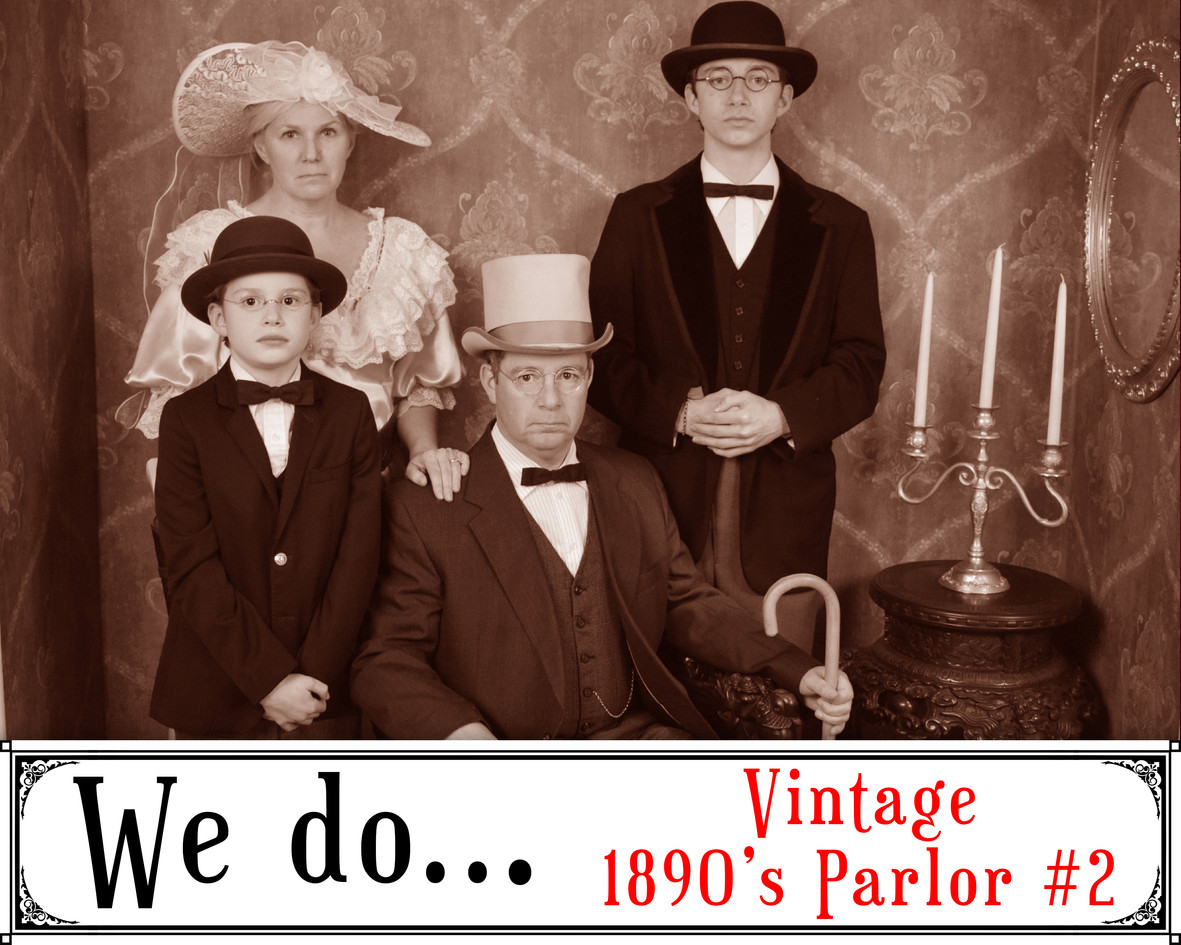 We Do Vintage 1890's Parlor 2