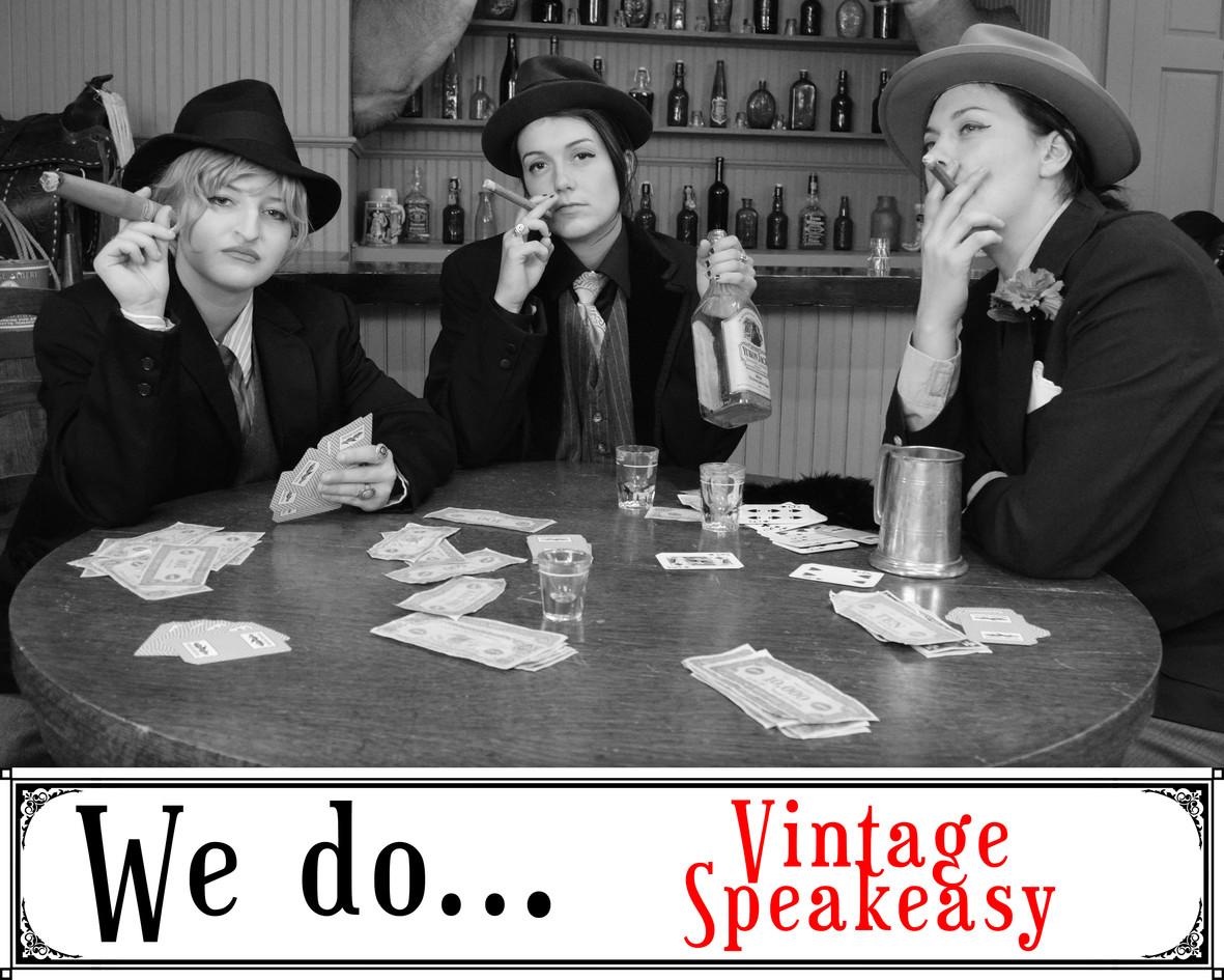 We Do Vintage Speakeasy