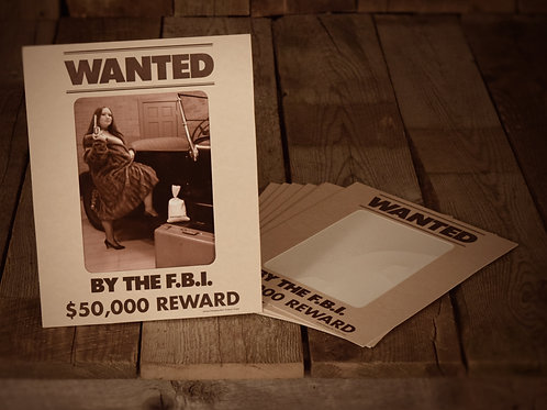 Wanted by the FBI Vertical (8X10)
