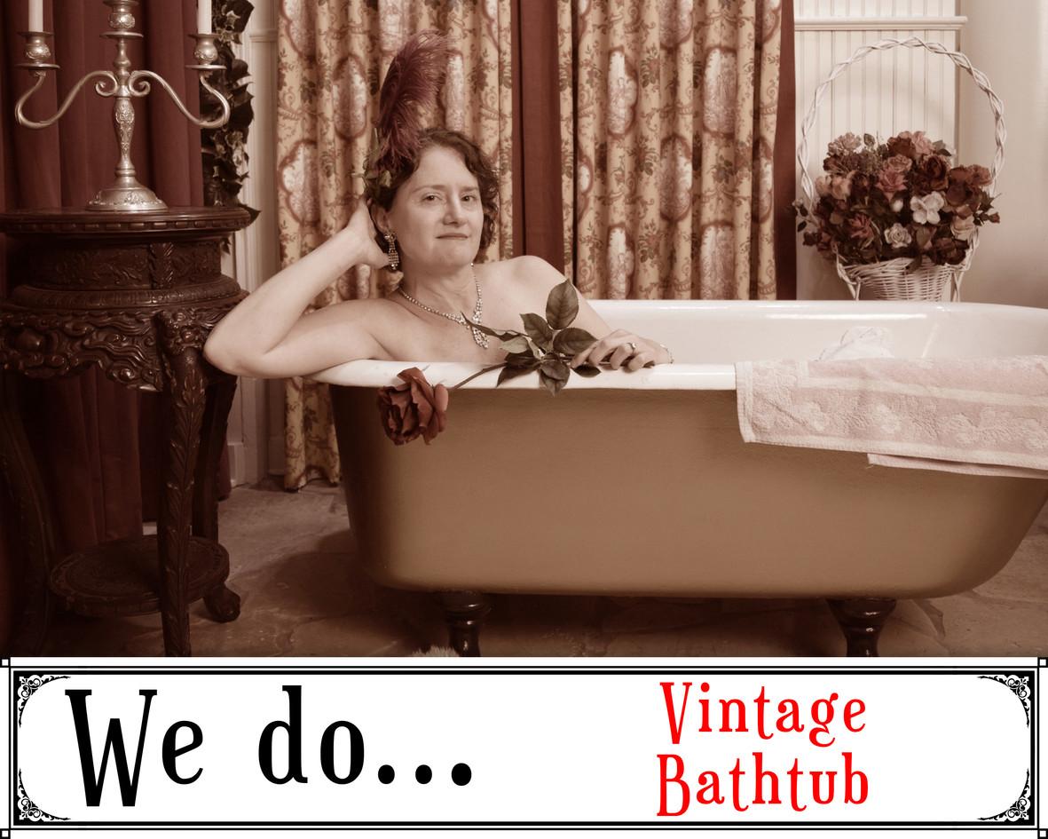 We Do Vintage Bathtub